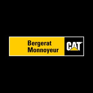 Koparko-ładowarka z przesuwem bocznym - Bergerat Monnoyeur